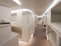 Airbus превратит грузовые отсеки самолетов вкомфортабельные спальные места