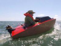 Мини-лодка Rapid Whale покоряет морские просторы