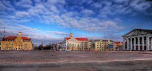 Чернигов. Современный город Украины